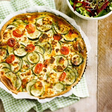 quiche-courgette-chevre